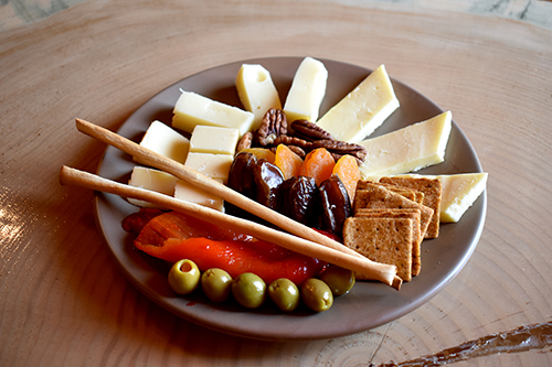 Our antipasto plate.